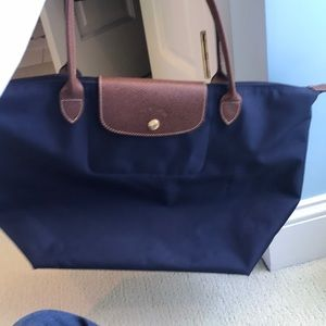 Navy tote bag! Gently used!
